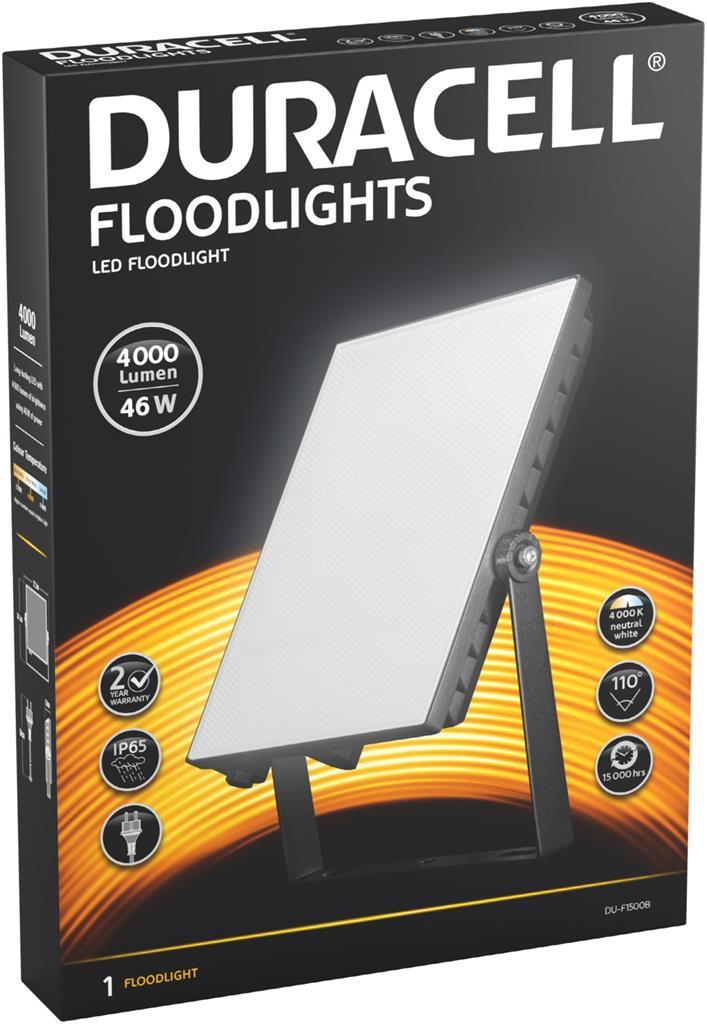Duracell DU-F1500B LED-Flutlicht-Strahler